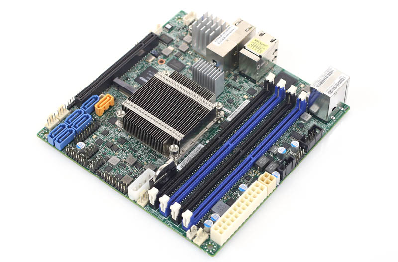 Supermicro X10SDV-4C-TLN4F CPU and DIMMs