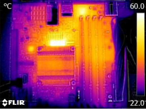 Supermicro X10SDV-4C-TLN4F FLIR Thermal Imaging