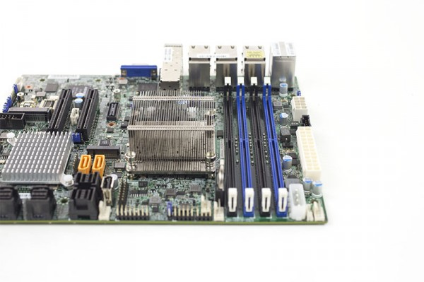 Supermicro X10SDV-7TP8F - Airflow View