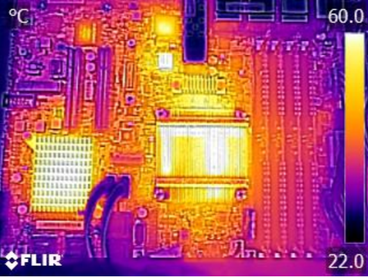 Supermicro X10SDV-7TP8F FLIR Thermal Imaging