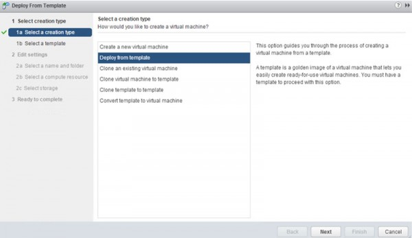 VMware vSAN - create a VM step 2
