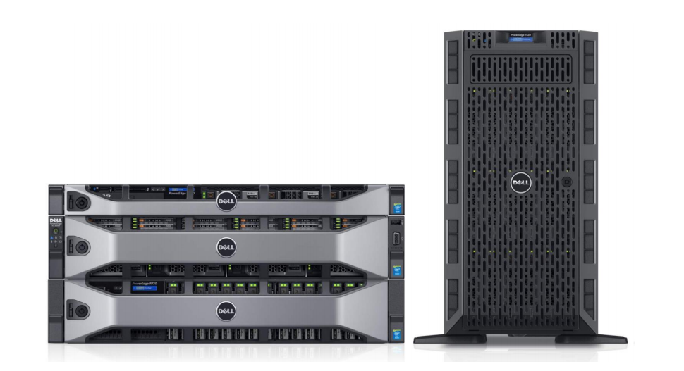 New Dell PowerEdge 13 servers with Intel Xeon E5-2600 V4 CPUs