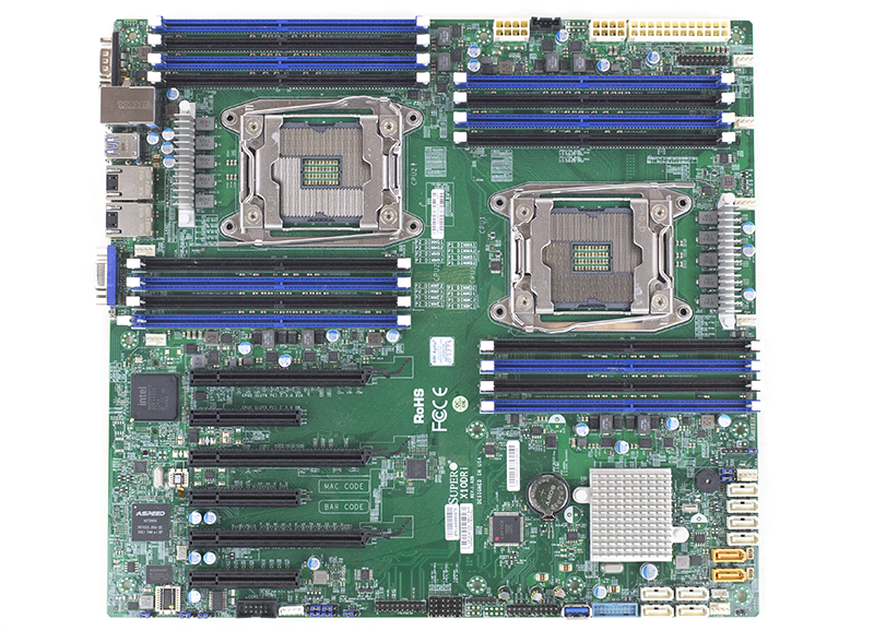 Supermicro X10DRI Overview