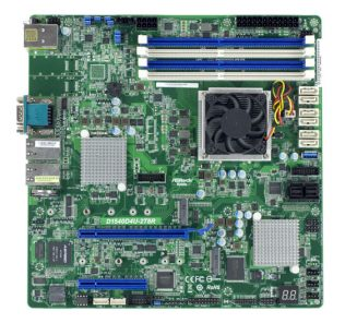 ASRock Rack D1540D4U-2T8R Overview
