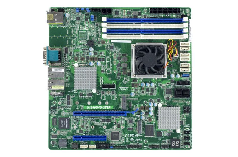ASRock Rack D1540D4U-2T8R Overview