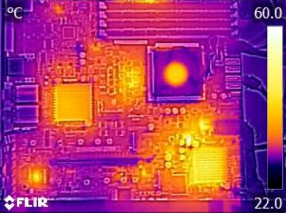 ASRock Rack D1540D4U-2T8R Thermal Imaging