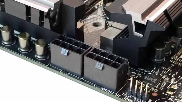 ASUS Z170 WS - Dual Power Connectors