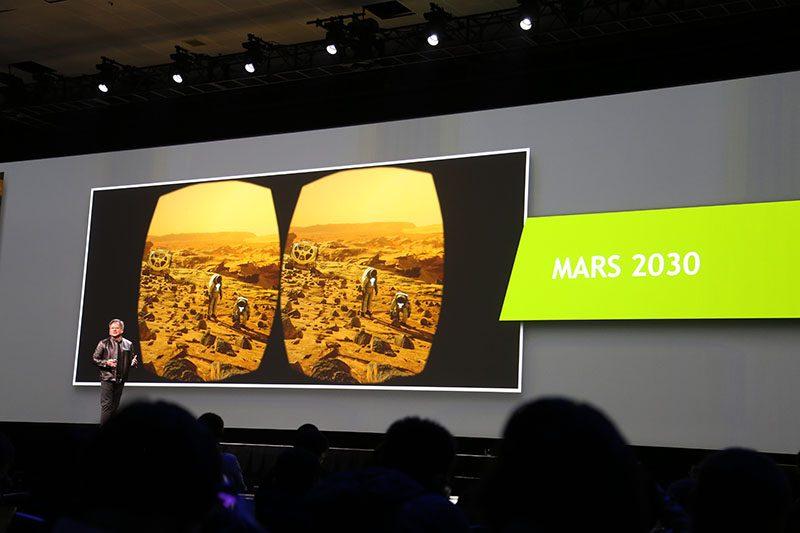 GTC 2016 - Mars 2030 VR