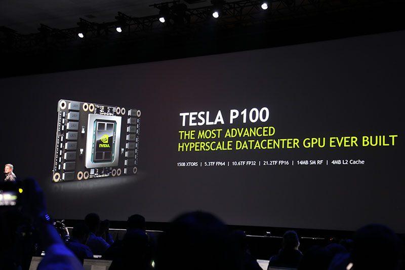 GTC 2016 - Tesla P100