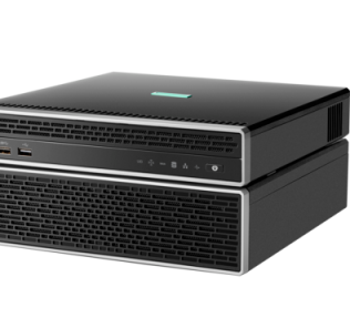 HPE ProLiant EC200a with expansion shelf