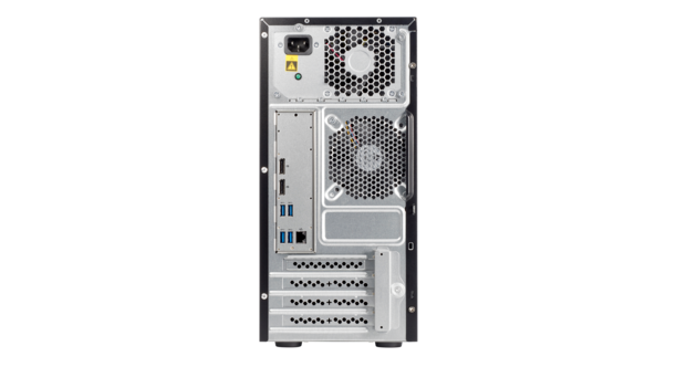 HPE ProLiant ML10 Gen9 Rear