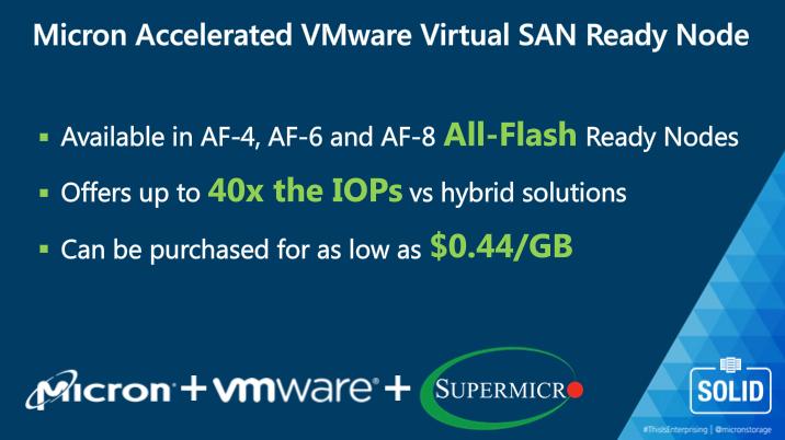 Micron VMware Supermicro vSAN Solution