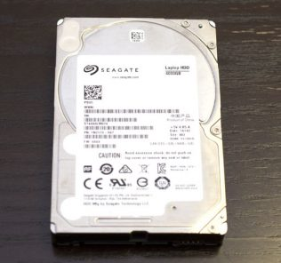 Seagate 4TB ST4000LM016 drive liberated