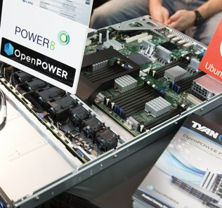 Tyan OpenPOWER 1U at GTC