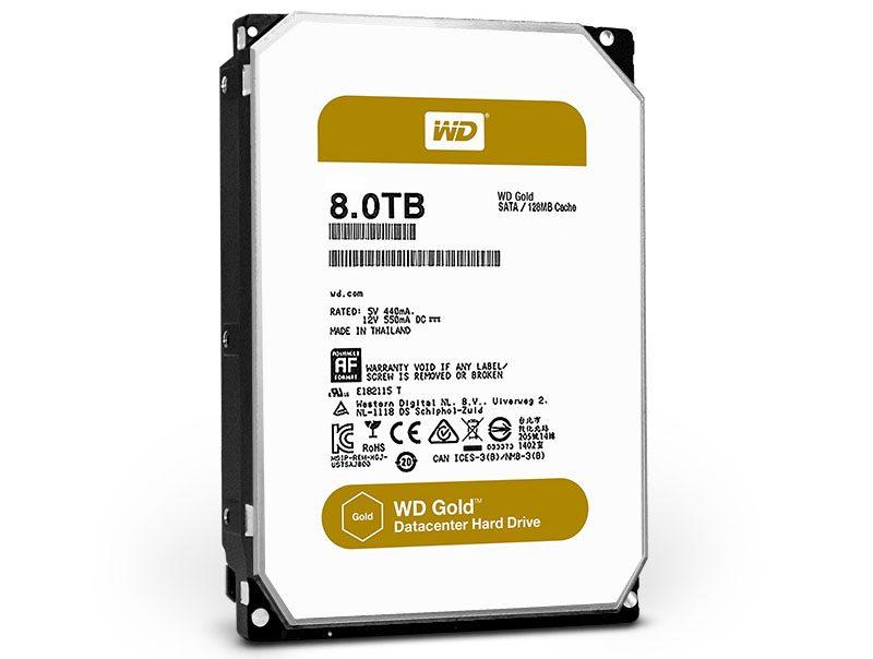 WD Gold 8TB WD8002FRYZ