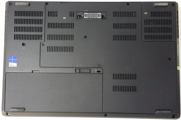 Lenovo ThinkPad P50 - Bottom
