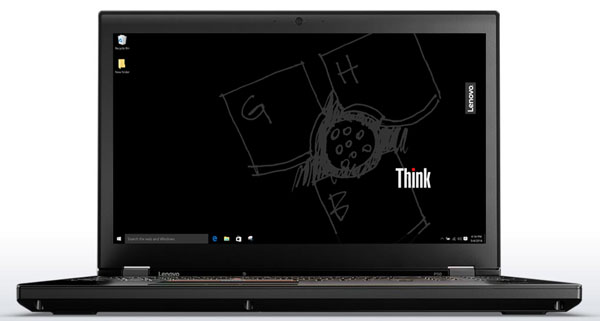Lenovo ThinkPad P50 - Display