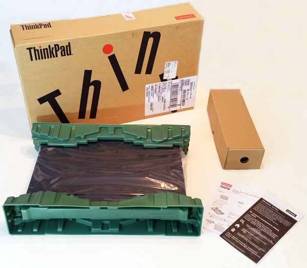 Lenovo ThinkPad P50 - Package Contents