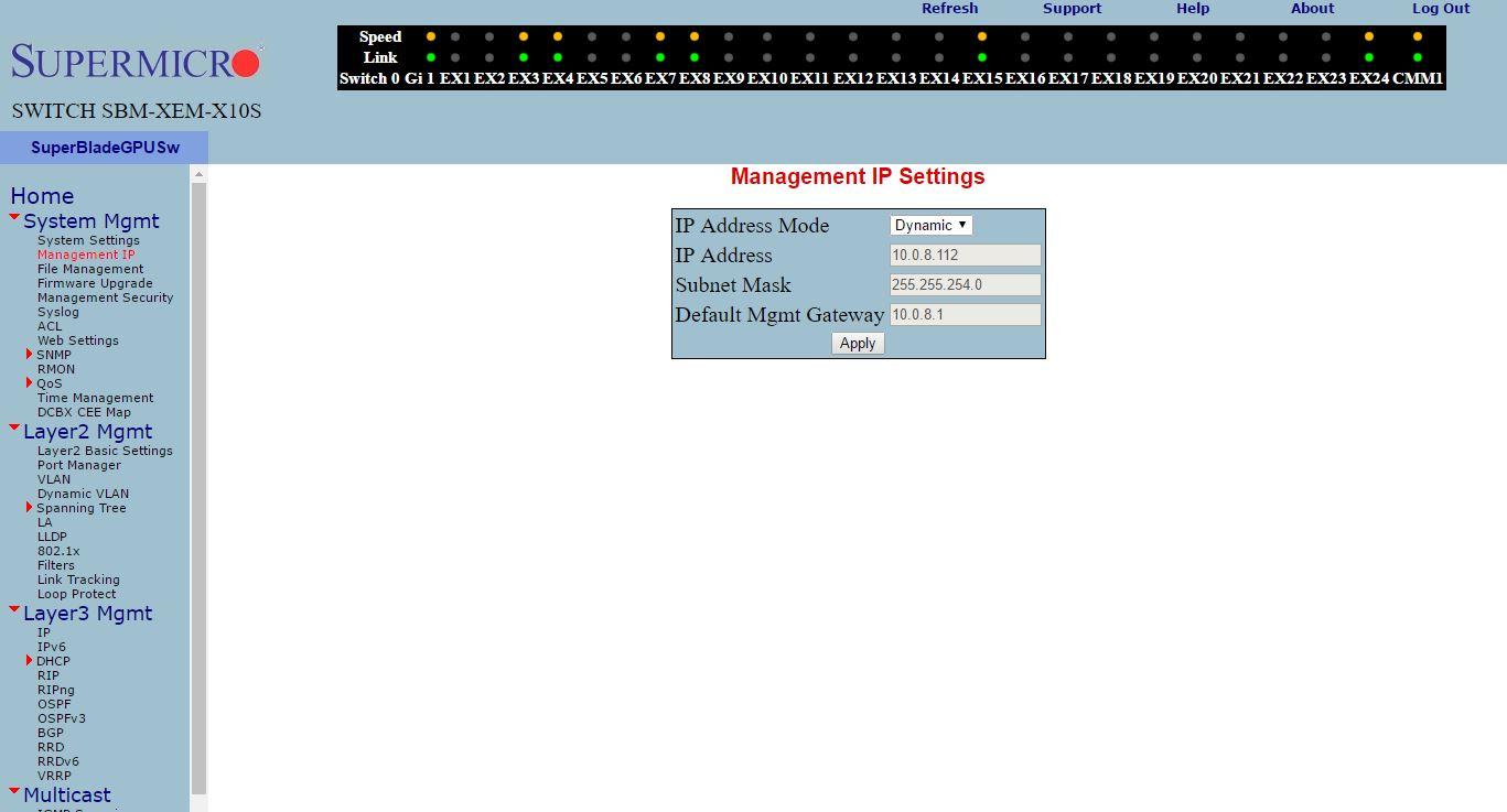 Supermicro SMB-XEM-X10SM Management IP - ServeTheHome