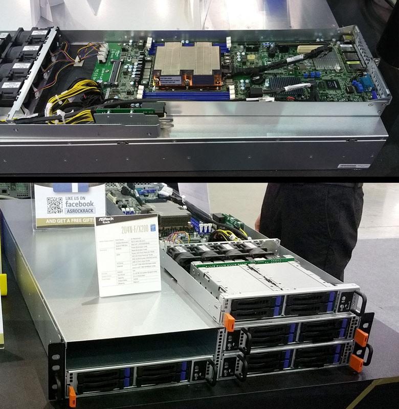 ASRock Rack 2U4N-F X200 node and system