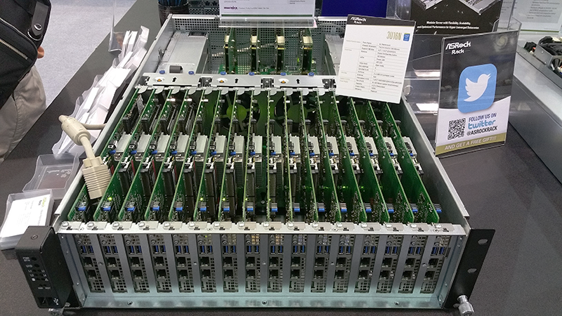 ASRock Rack 3U16N at Computex 2016
