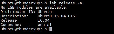 Cavium ThunderX Ubuntu 16.04 LTS