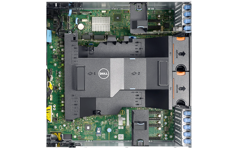 Dell PowerEdge T630 Internal View