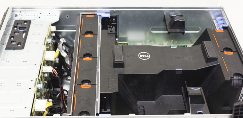 Dell PowerEdge T630 open shroud