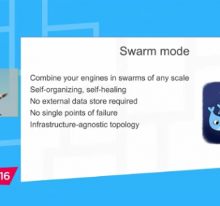 Docker 1.12 Orchestration - four features - swarm mode