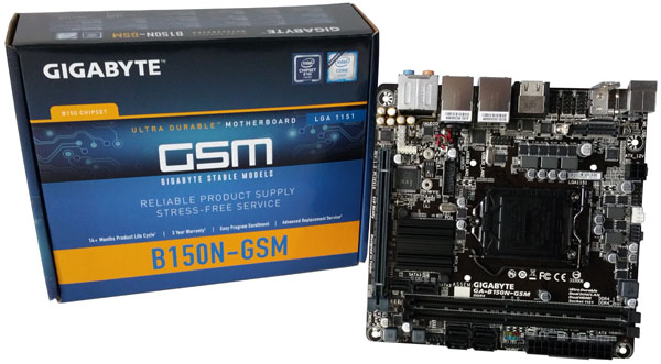 Gigabyte GA-B150N-GSM - Display