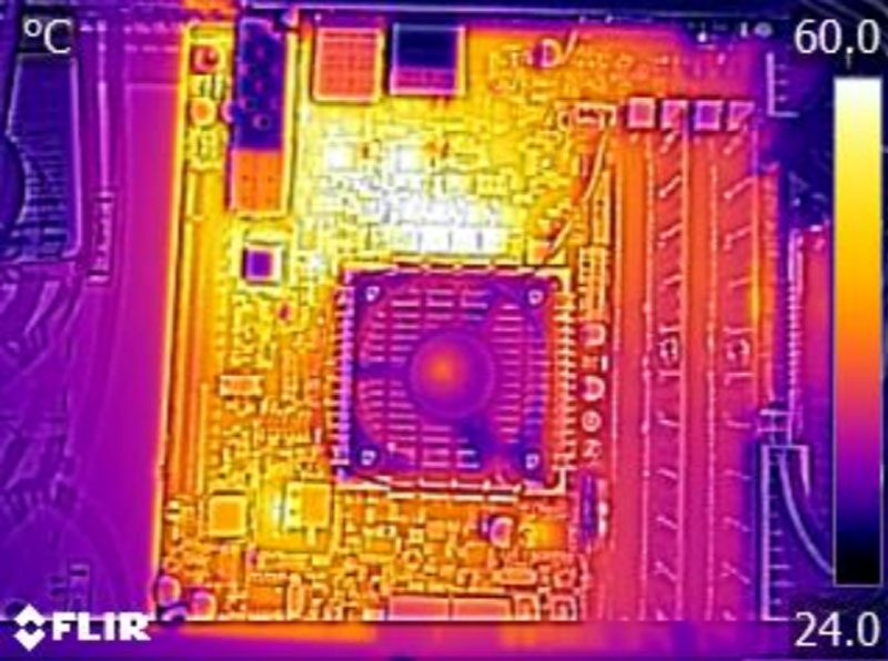 Gigabyte MB10-DS3 Thermal Imaging
