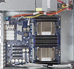 Gigabyte R270-T61 2U dual Cavium ThunderX platform open
