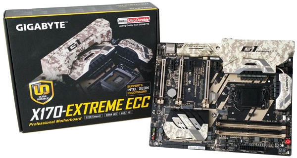 Gigabyte X170 Extreme ECC - Display