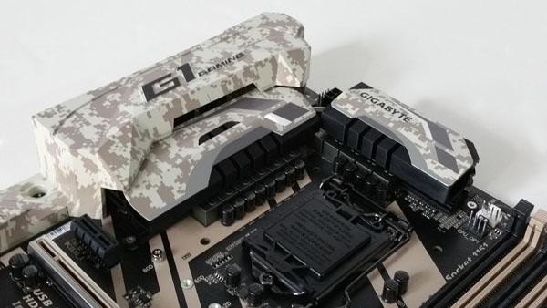 Gigabyte X170 Extreme ECC - Rear Cover