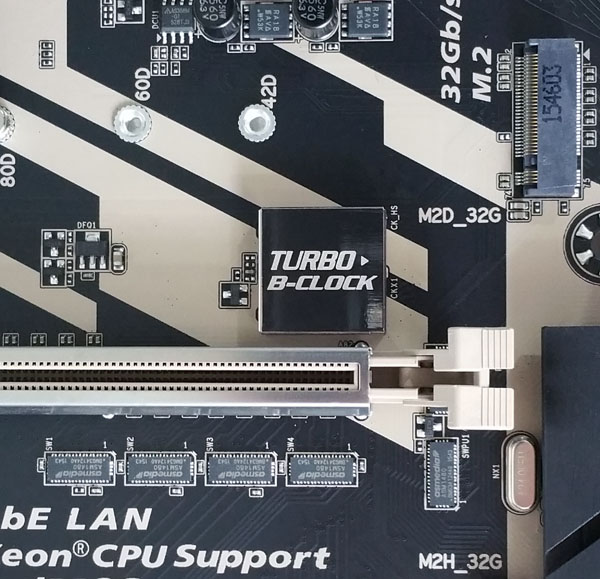 Gigabyte X170 Extreme ECC - Turbo B-Clock
