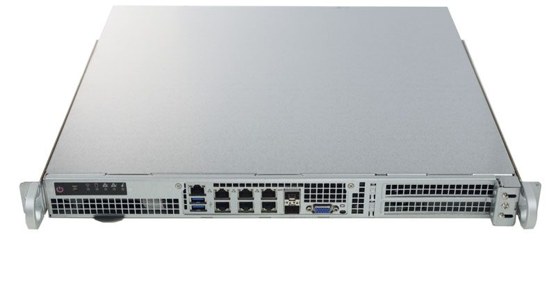 Supermicro SuperServer 1018D-FRN8T Front