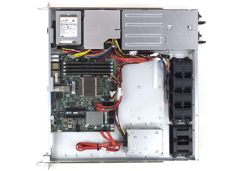 Supermicro SuperServer 1018D-FRN8T Internal no shroud