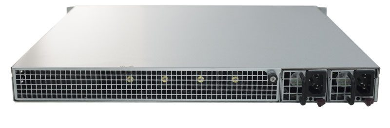 Supermicro SuperServer 1018D-FRN8T Rear