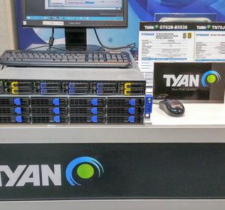 Tyan 1U Xeon D and 2U SAS chassis Computex 2016