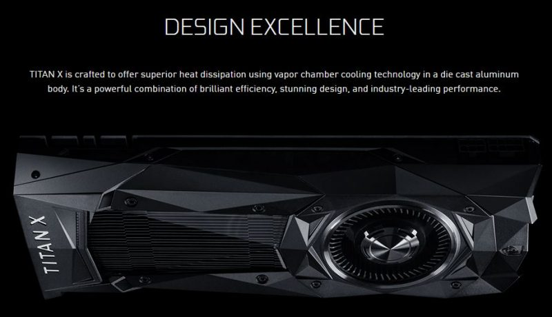 NVIDIA Titan X Pascal Design