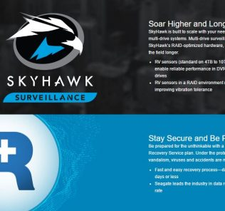 Seagate SkyHawk Launch