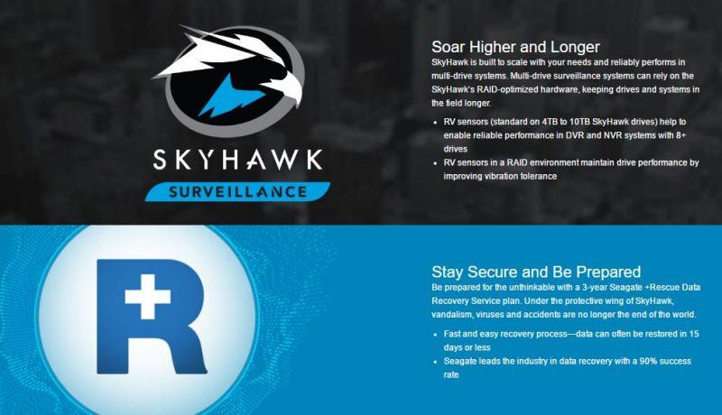 Seagate SkyHawk Launch