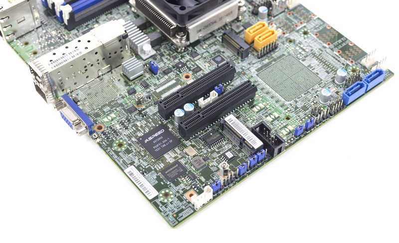 Supermicro X10SDV-4C+-TP4F PCIe and mSATA