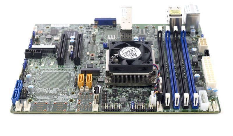 Supermicro X10SDV-4C+-TP4F airflow