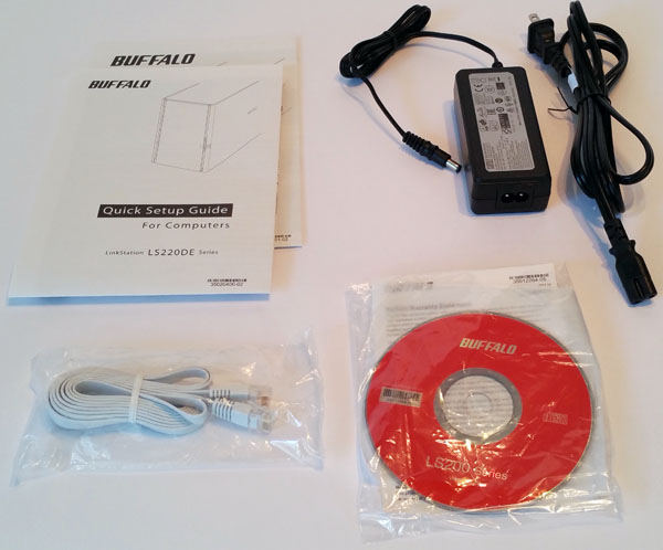 Buffalo LS220D 2 Drive NAS - Accessories