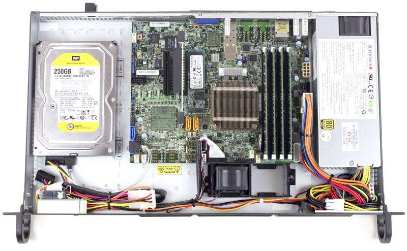 Supermicro SuperServer 5018D-LN4T Internal