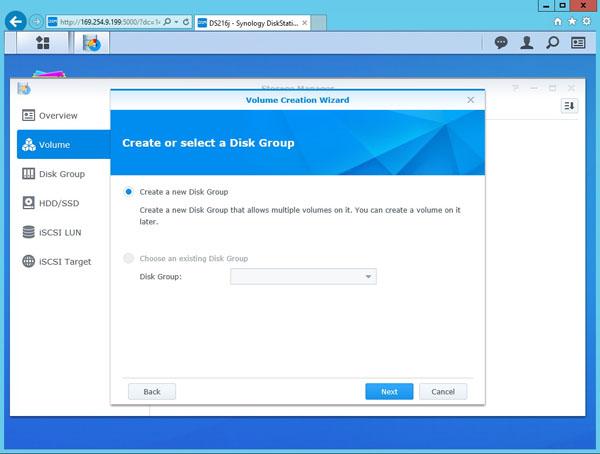 Synology DS216j - Software 18 - ServeTheHome