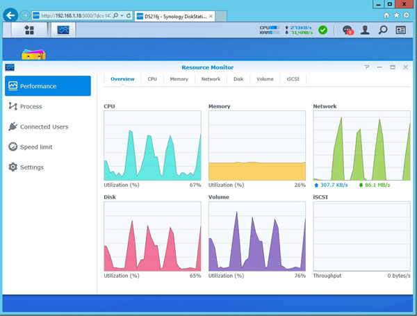 Synology DS216j - Software 21