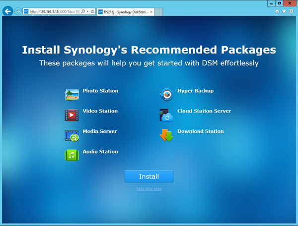 Synology DS216j - Software 8