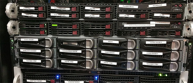 FreeNAS Demo Racked